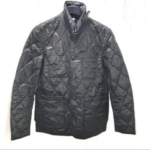 NWT Burberry Rushton Trim Fit Quilted Jacket